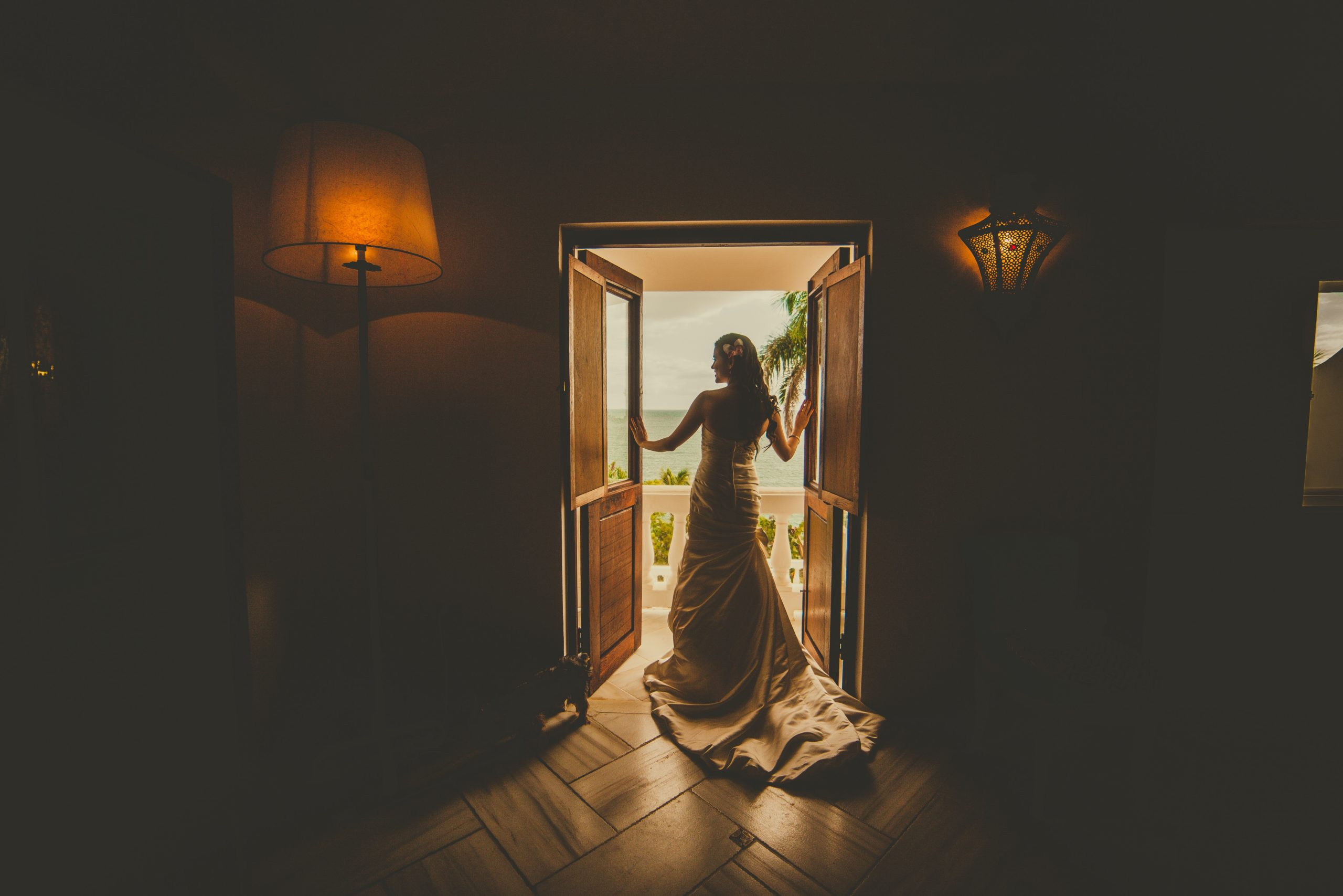 back-view-photo-of-woman-in-wedding-dress-standing-by-3038425