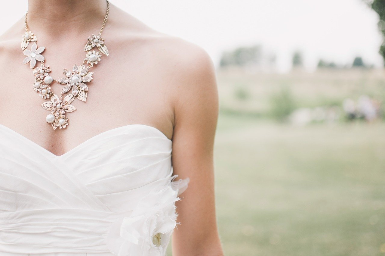 wedding, bride, jewelry